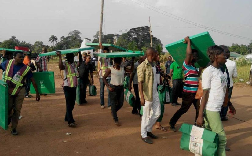 Nigeria Election Update:  Ballot Box Snatched in Rivers State